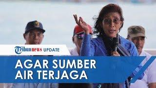 Menteri Susi Kunjungan Kerja ke Kepulauan Anambas, Ingatkan Warga Tak Buang Sampah Plastik ke Laut