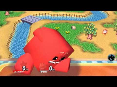 Super Meat Boy Hacked Into Super Smash Bros