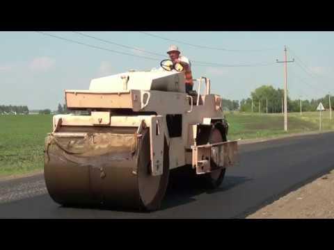 В Аургазинском районе активно идет ремонт дорог
