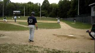 preview picture of video 'L 2010 Lefty Pitcher vs. 3 batters - NY Collegiate Baseball League 22Jul10'