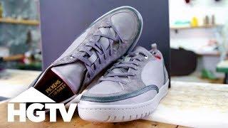 Creating Custom Kicks - See J Work - HGTV
