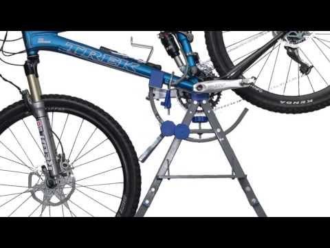 Supporto cavalletto manutenzione bicicletta  Genio