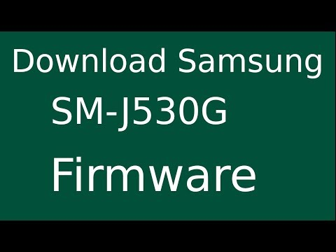 How To Download Samsung Galaxy J5 Pro SM-J530G Stock Firmware (Flash