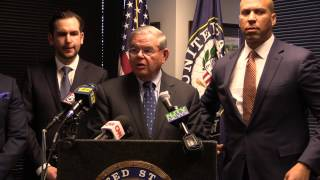 Menendez Vows to Fight Pres. Trump