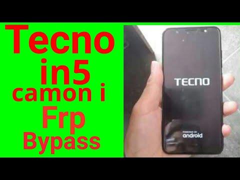 Tecno in5 frp unlock done with Sp flash tool only - смотреть