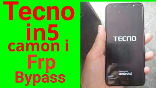 Tecno IN3 mobile Google Account (FRP) Bypass Unlock Without