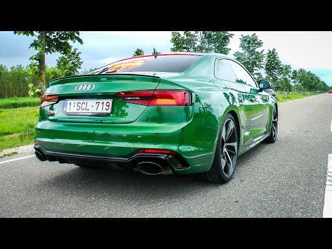 2018 Audi RS5 Coupé - INSANE Accelerations & Lovely Exhaust SOUND!