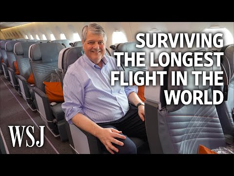 How to Survive the Longest Flight in the World