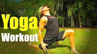 25 min Power Yoga Workout | Total Fat Burning Routine #poweryoga by SeanVigueFitness