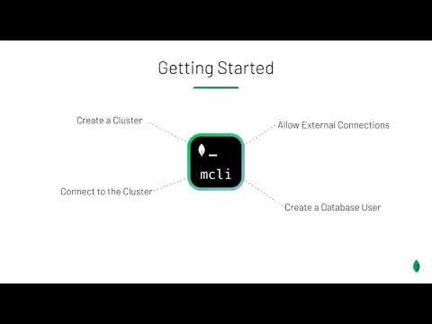 Introducing MongoDB CLI Atlas Quick Start