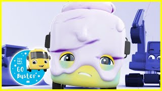 Buster the Ice Cream! | GoBuster Official | Nursery Rhymes | Songs for Kids | Single Episode