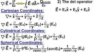 Physics - E&M: Maxwell's Equations (10 of 30) Differential Form of Gauss' Law: 2