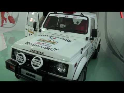 Maruti Suzuki Gypsy At Auto Expo 2012
