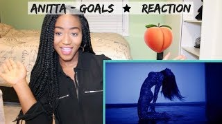 Anitta - Goals (Official Music Video) | REACTION