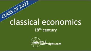 What is Classical Economics? | Adam Smith | New IB Economics Syllabus | IB Microeconomics