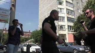 Экс-полицейский чуть не вынес мозг журналисту. Краснодар.