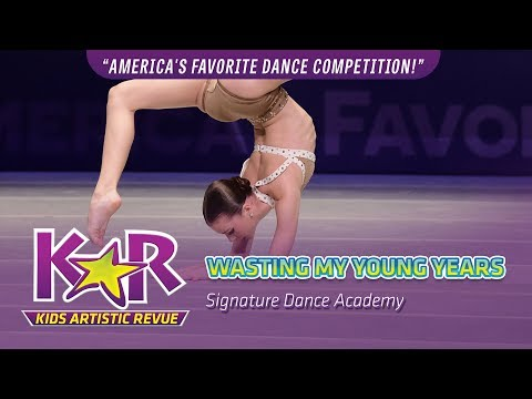 """Wasting My Young Years"" from Signature Dance Academy"