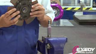 How to lube, test fit a clutch disc prior to installation