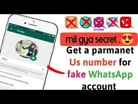 Download How To Create Fake Usa Number For Whatsapp How To Create F