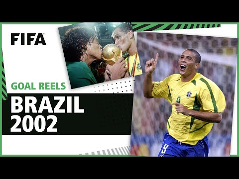 All of Brazil's 2002 World Cup Goals | Ronaldo Rivaldo Ronaldinho & more!