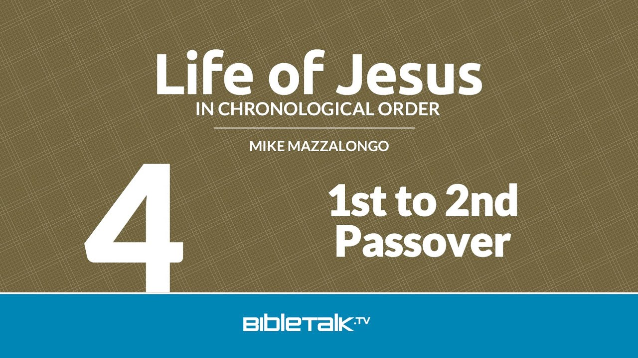 4. 1st to 2nd Passover