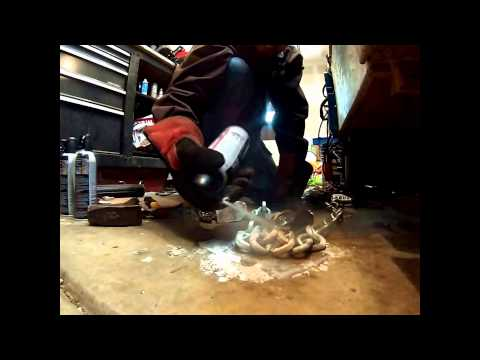 Security Maxx Hardened Chain Freeze & Shatter Test