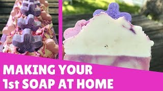How To Make Your First Cold Process Soap | ❤ Gypsyfae Creations