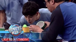 Blow Jump | Minute To Win It - Last Tandem Standing