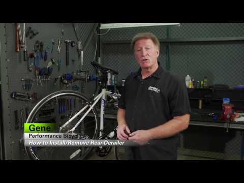 How To Remove And Install A Rear Derailleur