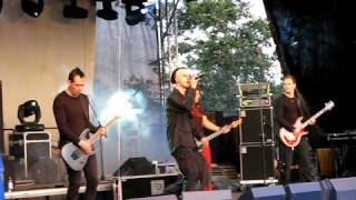 Dreadful Shadows - Twist in My Sobriety (cover) @ Castle Party XVI, Bolków, Poland 25.07.2009