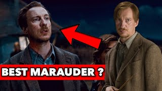 Why Remus Lupin Is The Best Marauder in Harry Potter