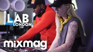 TQD [Royal-T, DJ Q and Flava D] bumping UK garage in The Lab LDN