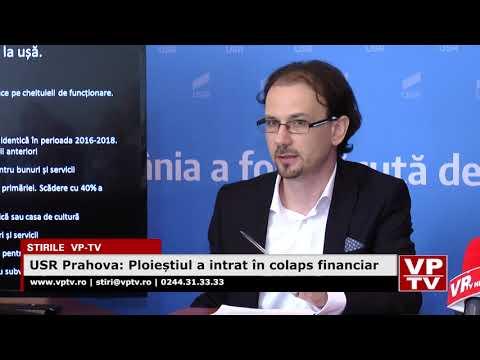 USR Prahova: Ploieștiul a intrat în colaps financiar