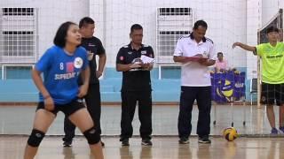 2559-12-09 คัดตัวนักวอลเลย์บอลเยาวชนหญิง U18 ชิงแชมป์เอเชีย