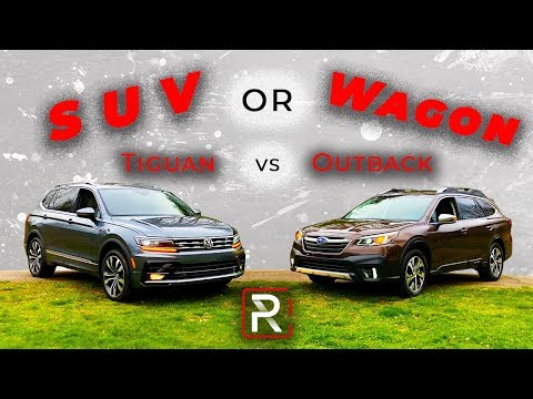 2020 Subaru Outback Vs. Volkswagen Tiguan – What is The Better Family Car?
