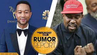 John Legend Explains What Kanye's MAGA Hat Represents
