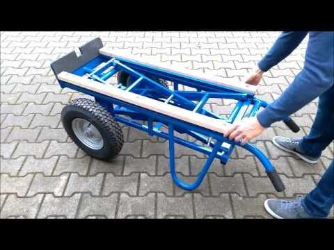 Transportroller WTR500 mit Scherenhub