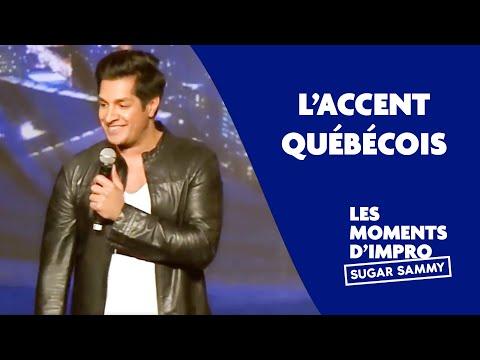Sugar Sammy – Quebecký přízvuk - Stand-up okénko
