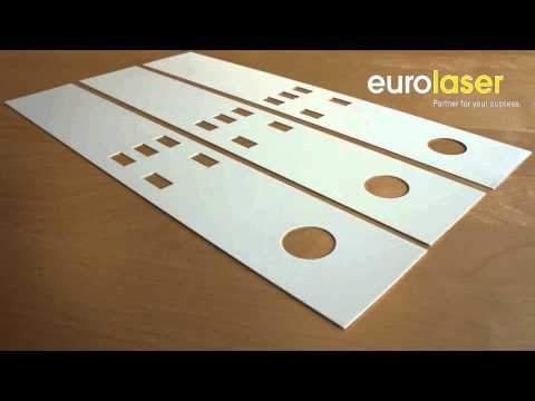 Polycarbonate front panels | Laser cutting