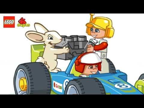 Vidéo LEGO Duplo 6143 : Le stand de course