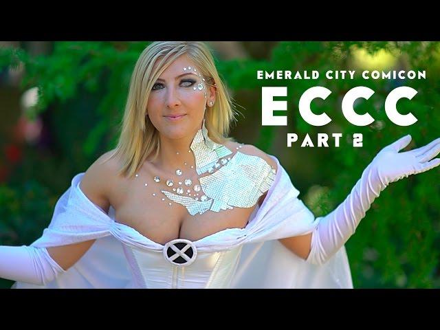 EMERALD CITY COMICON - Part 2 - ECCC 2016 COSPLAY