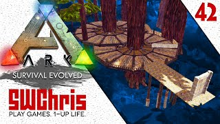 33:06 How To Build A Treehouse In The ARK Redwood Forest Biome Pt 1 :: ARK
