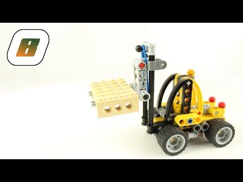 Vidéo LEGO Technic 8290 : Le mini monte-charges