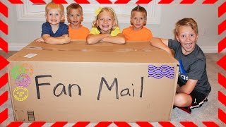 Family Fun Pack Fan Mail from Switzerland, Japan, UK, Canada, US!! | Kholo.pk