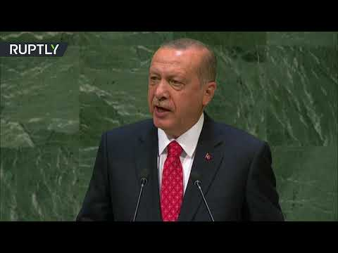 Erdogan at UNGA: Silence about oppression in Palestine only increases courage of oppressors