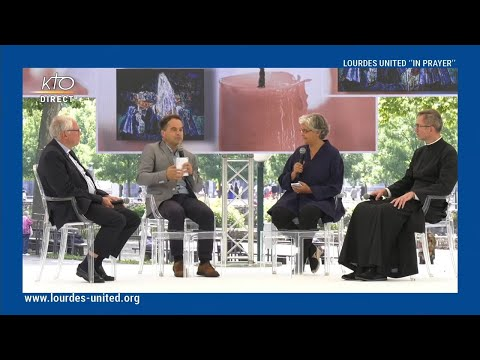 Lourdes United 2021 - Emission spéciale avec Philippine de Saint Pierre et Mathias Terrier