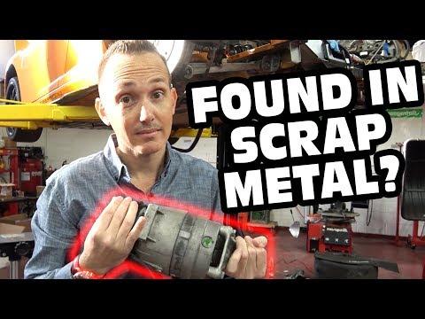 USPS Found My $2500 Ferrari Compressor In Their Scrap Metal Pile!
