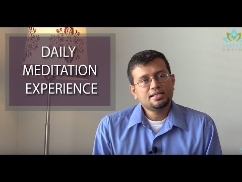 Benefits of regular meditation