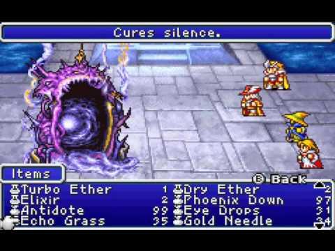 Final Fantasy I And Ii Dawn Of Souls Walkthrough Final Fantasy 1