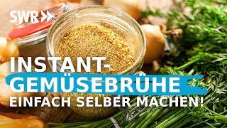 Selbst gemachtes Gemüsebrühepulver - lecker, gesund, haltbar   Koch ein!
